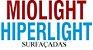 MIOLIGHT / HIPERLIGHT   TRIVEX   VISÃO SIMPLES SURFAÇADAS   +8.00 ATÉ -10.00 CIL -6.00 - Imagem 1