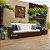 conjunto de sofá quadrado 5 lugares em fibra sintética  - Imagem 3