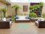 conjunto de sofá quadrado 5 lugares em fibra sintética  - Imagem 2