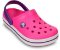 CALCADO CROCBAND KIDS - 10998 - NEON MAGENTA/NEON PURPLE - Imagem 1