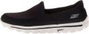 MENS SKECHERS GO WALK 2  - BLACK/GRAY - Imagem 5