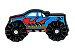 JIBBITZ MONSTER TRUCK BLUE - UNICA - Imagem 1
