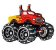 JIBBITZ MONSTER TRUCK RED - UNICA - Imagem 1