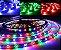 FITA DE LED RGB 5050 C/ CONTROLE E RECEIVER 12V 24KEY 5M FN-136 - Imagem 1