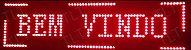 PLACA DE LED VERMELHO 100X20 LELONG SL1023V - Imagem 1