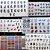 Kit pronto FRETE GRÁTIS + de 245 pares C/ todos nossos mini cartelões - Imagem 4