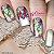 Películas de unhas - Floral e Borboleta - Imagem 1