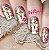 Películas decorados para unhas  Floral e Borboletas - Imagem 1