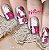 Películas decorados para unhas - Floral - Imagem 1