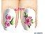 Películas de unha (SerieLP) - Floral Rosa - Imagem 1