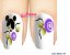 Películas de unha (SerieLP) - Botão de Flor Lilas  - Imagem 1