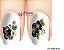 Películas de unha (SerieLP) - Flores e Borboleta Preta - Imagem 1