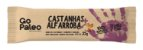 Go Paleo - Barras Nuts Castanhas + Alfarroba - Display com 12 unidades - Imagem 2