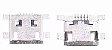 Conector de Carga Moto E1 Xt1021 xt1022 Xt1025 - Imagem 1