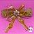 Coleira Glamu Pet com Detalhes em Fitas e Pedrarias Laranja - Imagem 5