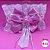 Coleira Glamu Pet Rosa com Detalhes em Renda e Fitas - Imagem 3