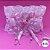 Coleira Glamu Pet Rosa com Detalhes em Renda e Fitas - Imagem 5