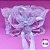 Coleira Glamu Pet Rosa com Detalhes em Renda e Fitas - Imagem 4