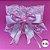 Coleira Glamu Pet Rosa com Detalhes em Renda e Fitas - Imagem 6