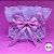 Coleira Glamu Pet Rosa com Detalhes em Renda Dupla e Pérolas - Imagem 5