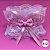 Coleira Glamu Pet Rosa com Detalhes em Renda Dupla e Pérolas - Imagem 2