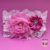 Coleira Glamu Pet Rosa com Detalhes em Cetim, Pedraria e Strass - Imagem 2