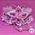 Coleira Glamu Pet com Detalhes em Flor de Cetim e Miçangas - Imagem 1