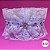 Coleira Glamu Pet Azul com Detalhes em Renda e Pedraria - Imagem 2