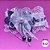 Coleira Glamu Pet Branca com Detalhes em Cetim e Pedraria - Imagem 2