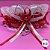 Coleira Glamu Pet Vermelha com Detalhes em Rendas e Fitas - Imagem 1
