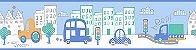 Faixa Treboli Carros Azul - Imagem 1