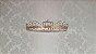 Kit Papel de Parede (3315), Dossel de Coroa Dourada, Mosquiteiro de Tule e Trio de Urso Príncipe - Imagem 2