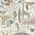 Papel de Parede Dwell Studio Baby Kids DW2302 Animais - Imagem 1