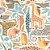 Papel de Parede Dwell Studio Baby Kids DW2301 Animais - Imagem 1