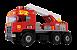 Caminhão Super Bombeiro Sirene e Luz Magic Toys 5056 - Imagem 1