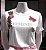 """Anemess - Tshirt Feminist estampada com a palavra em inglês ''Feminist"""", ou seja, """"Feminista"""". Possui aplicação de flores bordadas, além de aplicações de abelha e borboleta em pedraria, trazendo requinte e luxo a tee! As mangas são curtas. TAMANHO M - Imagem 2"""