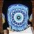 Anemess - Blusa ampla Olho Grego/Mandala/Limões - TAMANHO ÚNICO - Acompanha Mascara - VESTE DO P AO GG - Imagem 3