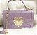 Bolsa de Couro legítimo  / cor:Lavanda /   inspiration  Dolce & Gabbana - 100% couro / Feita no Brasil  - Imagem 1