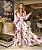 Closet Deluxe _ Vestido longo hortênsias Roxo  ref:2020-423 - Imagem 1