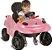Carrinho de Passeio Infantil Smart Baby Comfort Rosa - Bandeirante - Imagem 3