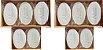 Sabonete com óleo de Neem Nim 70 Gr uso animal Kit com 10 Unidades - Imagem 1