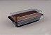 Forma retangular preta com tampa - caixa com 100 unidades - G220 - Galvanotek - Imagem 1