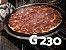 Forma de pizza 30cm preta - pacote com 5 unidades - G230 - Galvanotek - Imagem 2
