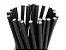 Canudo de Papel Preto MILKSHAKE- Biodegradável - (200 unidades) (Promoção) - Imagem 2