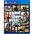 Jogo Grand Theft Auto V - GTA V (Seminovo) - PS4 - Imagem 1