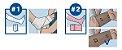 KIT Bandagem de Curta Elasticidade, Compri2 - Imagem 2