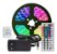 FITA LED RGB 5M C/ FONTE E CONTROLE LEY 5050 - Imagem 1