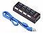 HUB USB 4P 3.0 - LEHMOX - P - Imagem 1