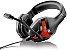 SN - FONE HEADSET GAMER PH101 RED/BLACK MULTILASER - Imagem 1