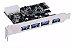 PLACA PCI - E USB 4P 3.0 - P - Imagem 1
